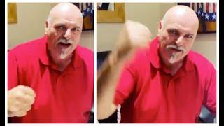 EPIC!!!!! - 'WE WILL BEAT THIS!!!' - JOHN FURY SCREAMS MESSAGE OF HOPE AT CAMERA AS SON TYSON FILMS