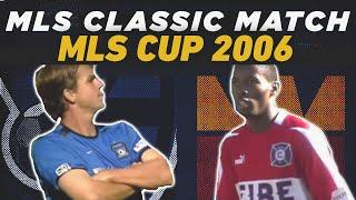 San Jose Earthquakes vs Chicago Fire FC | MLS Cup 2003 | MLS FULL CLASSIC MATCH