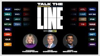 Talk the Line Week 15 Pro Football Line Reveal Show & Monday Night Football Matchup