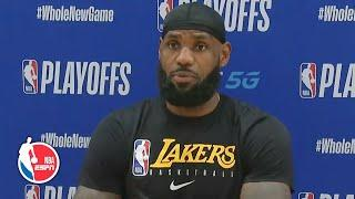 LeBron James: Lakers need to be better closing out games | 2020 NBA Playoffs