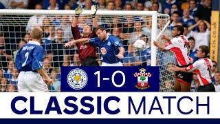 Taggart Header Sinks Saints   Leicester City 1 Southampton 0 Classic Matches
