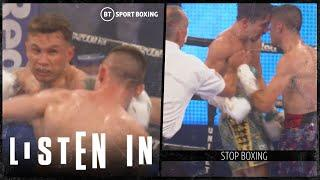 Listen In: This is what Carl Frampton and Mick Conlan's body shots sounded like without fans