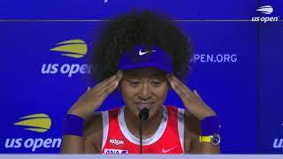 """Naomi Osaka: """"Night matches at the US Open are really special!""""   US Open 2020 Press Conference"""