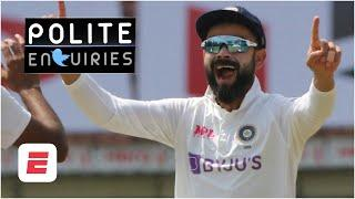 Will Virat Kohli hunt down England's score?! | #PoliteEnquiries | India vs. England 1st Test, Day 4