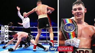 FULL FIGHT! Chris Billam-Smith drops & stops Craig Glover in emphatic fashion