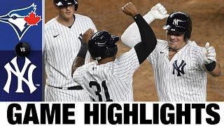 Yankees set multiple HR records with six-homer game   Blue Jays-Yankees Game Highlights 9/17/20