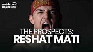Reshat Mati's rise with Matchroom USA