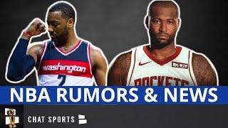 NBA News On DeMarcus Cousins & Trade Rumors On John Wall + Free Agent Tracker & Top Free Agents Left