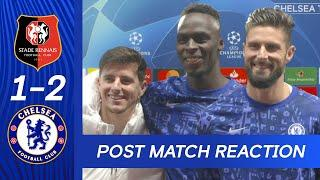 Edouard Mendy & Mason Mount React To Big Win & Giroud On His Match Winner | Rennes 1-2 Chelsea