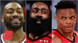 How should Harden feel about the Rockets trading Westbrook to the Wizards for John Wall? | KJZ