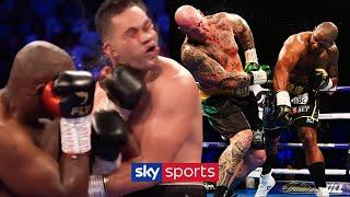 Dillian Whyte's most VICIOUS Knockouts & Knockdowns