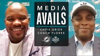 Chris Grier and Coach Flores Discuss Rounds 2 & 3 of the Draft   Press Conference