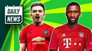 Man United still want Grealish! + Chelsea to lose star defender?  Daily News