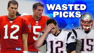 The 10 QB's Drafted While Tom Brady Was A Patriot