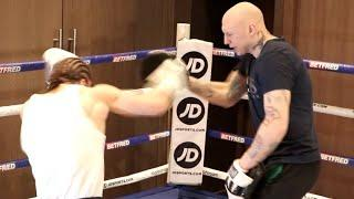 WILL HE KNOCKOUT FLORIAN MARKU? - RYLAN CHARLTON HAMMERS THE PADS AS HE LOOKS TO CAUSE ANOTHER UPSET