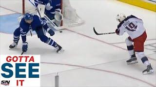 GOTTA SEE IT: Liam Foudy Scores After Maple Leafs Make Bad Line Change