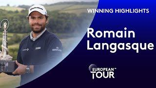 Romain Langasque wins the ISPS HANDA Wales Open | Final Round Winning Highlights