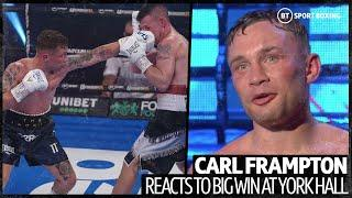 Jamel Herring next! Carl Frampton reacts to impressive knockout against Darren Traynor