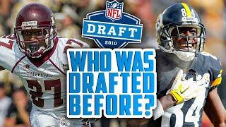 HOW Were these 21 Receivers Drafted BEFORE Antonio Brown? AND WHERE ARE THEY NOW?