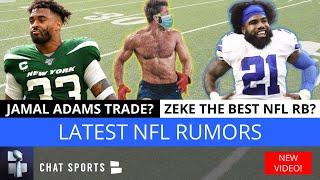 NFL News & Rumors: Jamal Adams & David Njoku Trade Rumors + Zeke Elliott RB Rank & Shaq Barrett