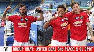 Group Chat: United back in the Champions League | Leicester Reaction | Danny Simpson joins us
