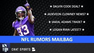 NFL Rumors On Dalvin Cook Deal, Logan Ryan To Chiefs, Jadeveon Clowney, Jamal Adams Trade? | Mailbag