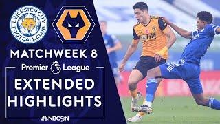 Leicester City v. Wolves | PREMIER LEAGUE HIGHLIGHTS | 11/8/2020 | NBC Sports