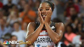 Keni Harrison's breaks 28-year-old 100m hurdles world record in 2016 | NBC Sports