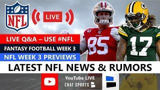 NFL Daily with Mitchell Renz & Harrison Graham (September 23rd, 2020)