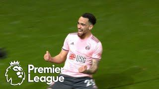 Kean Bryan heads Blades in front of Manchester United | Premier League | NBC Sports