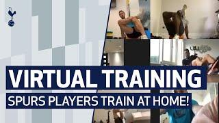 SPURS VIRTUAL TRAINING | Spurs players train from home!