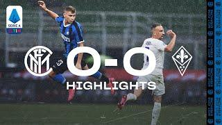 INTER 0-0 FIORENTINA | HIGHLIGHTS | Rain, big saves and missed chances