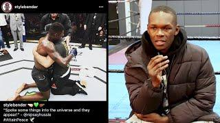 Up In the 'Gram With Israel Adesanya