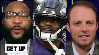 Marcus Spears & Greg McElroy disagree on Lamar Jackson's culpability in the Ravens' issues | Get Up