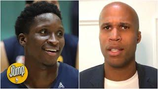 Something isn't right with this Victor Oladipo-Pacers situation - Richard Jefferson | The Jump