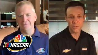 Matt Kenseth surprised by return to NASCAR Cup Series with Chip Ganassi Racing | Motorsports on NBC