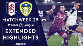 Fulham v. Leeds United | PREMIER LEAGUE HIGHLIGHTS | 3/19/2021 | NBC Sports