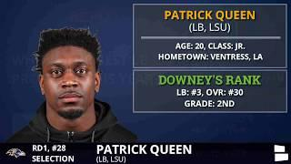 Baltimore Ravens Select LB Patrick Queen From LSU With Pick #28 In 1st Round | 2020 NFL Draft
