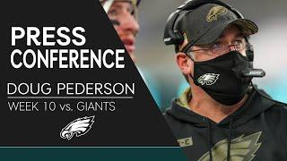 Doug Pederson Discusses the Loss to the Giants | Eagles Press Conference