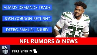 NFL Rumors On Jamal Adams Trade Demands, Josh Gordon Return & Deebo Samuel Injury Details | NFL News