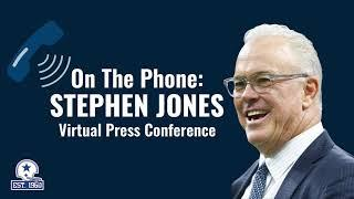 Stephen Jones: Fired Up About Our Future with Dak | Dallas Cowboys 2020