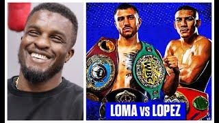 'I AM PUTTING MONEY ON IT BEING A DRAW!' - OHARA DAVIES MAKES A BIZARRE PREDICTION FOR LOMA v LOPEZ