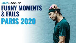 Funny Tennis Moments & Fails  | Paris 2020