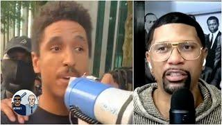 Jalen praises NBA players for participating in protests over George Floyd's death | Jalen & Jacoby