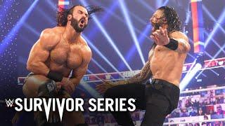 Drew McIntyre and Roman Reigns trade haymakers: Survivor Series 2020 (WWE Network Exclusive)