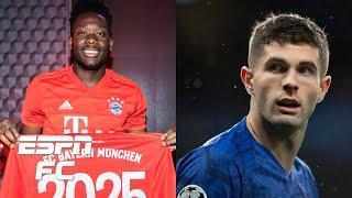 Bayern Munich's Alphonso Davies is better than Christian Pulisic - Salazar | ESPN FC
