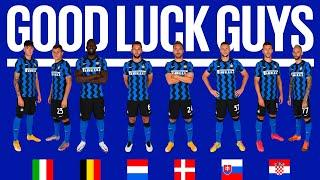 INTER x UEFA EURO 2020 | GOOD LUCK TO OUR PLAYERS! | #IMInter #Euro2020