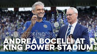 Andrea Bocelli Performs At King Power Stadium