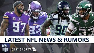 NFL Rumors: Everson Griffen To Packers? Jadeveon Clowney to Saints or Seahawks? Dalvin Cook Opt-Out?
