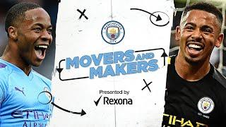 MOVERS AND MAKERS   Man City Goal Machines